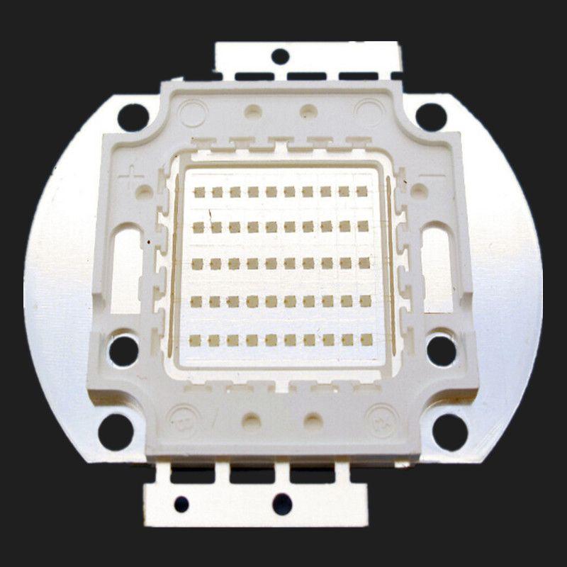 10W / 20W / 30W / 50W / 100W UV LED lampe Violet Projections 365-370nm Épilés 45mil Chip Livraison Gratuite 1PCS