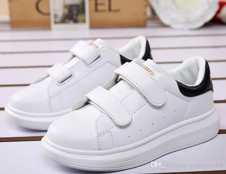 2017 primavera estate nuove scarpe casual per bambini moda sneakers ragazzi ragazze bianche scarpe sportive per bambini scarpe per bambini G430