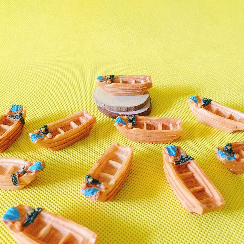 satış ~ 10 Adet / yelkenli tekne / bebek evi // minyatür / güzel sevimli / peri bahçe gnome / moss teraryum dekor / el sanatları / bonsai / DIY