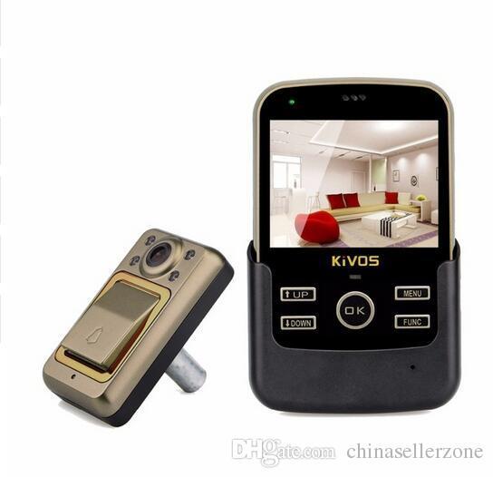 3.5 Inch Digital Door Viewer Doorbell Night-Vision Door Eye Peephole Extra-large Range of Vision for Home