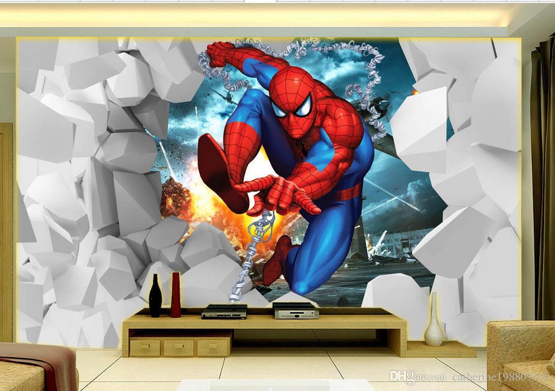 Großhandel New Custom 3D Schöne Dynamische Kinderzimmer TV Wandbild 3d  Wallpaper 3d Tapeten Für TV Kulisse Von Catherine198809100, $16.59 Auf ...