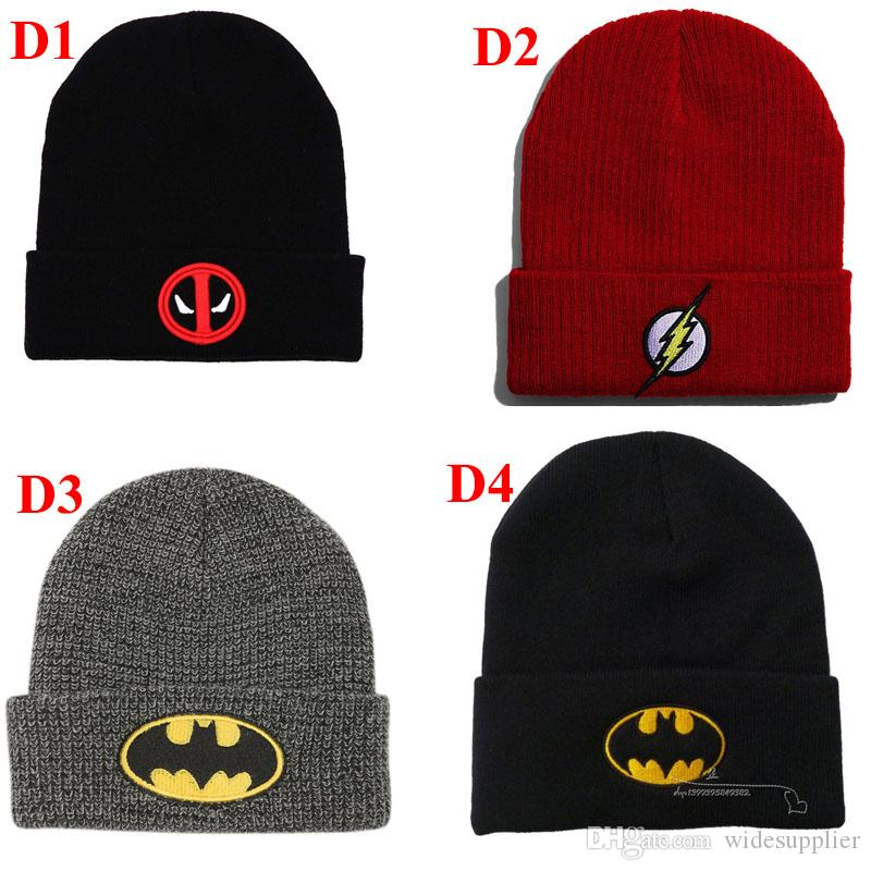 2019 Korean Version Beanies Hats Hip Hop Flash Clothing Embroidered Wool Cap Men and Women Autumn and Winter Warm Sets of Knitted Hats