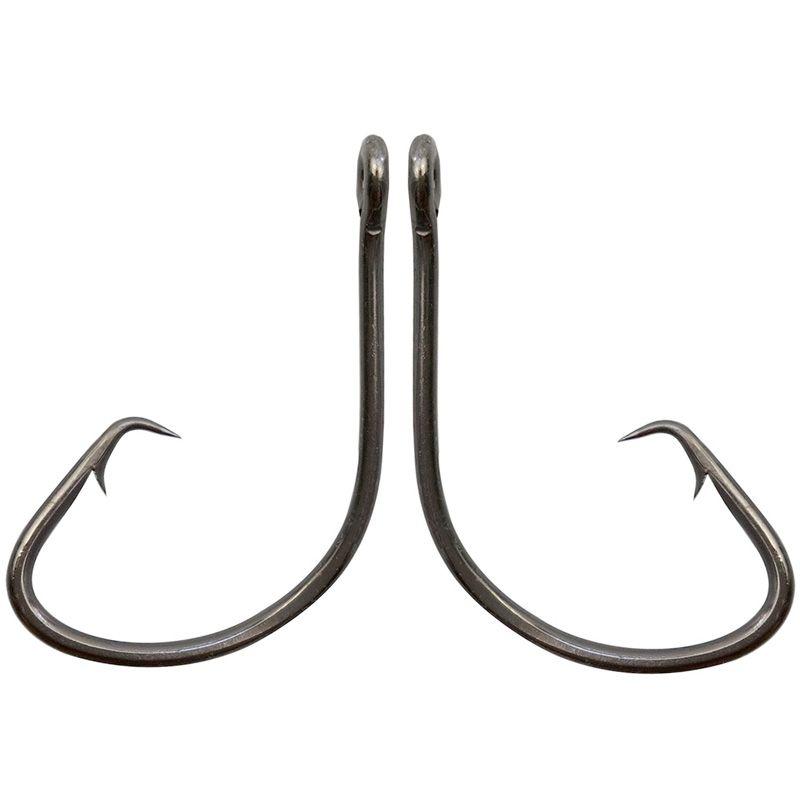 7381 высокоуглеродистая сталь рыболовные крючки черный смещение спортивный круг приманки рыболовный крючок бас колючие крючки