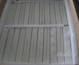 127*76*13mm gas heater ceramic plate,infrared ceramic plate,gas oven plate Gasburner honeycomb ceramic plate factory direct