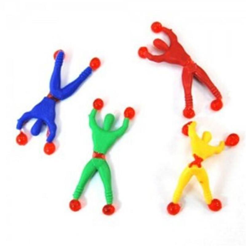 Neuheit Somersault Villain Klettern eine Wand Spider Man Spider-Variant-Kind-Spielzeug Menschlich Kletterwand Spiders Spielzeug DHL-freier