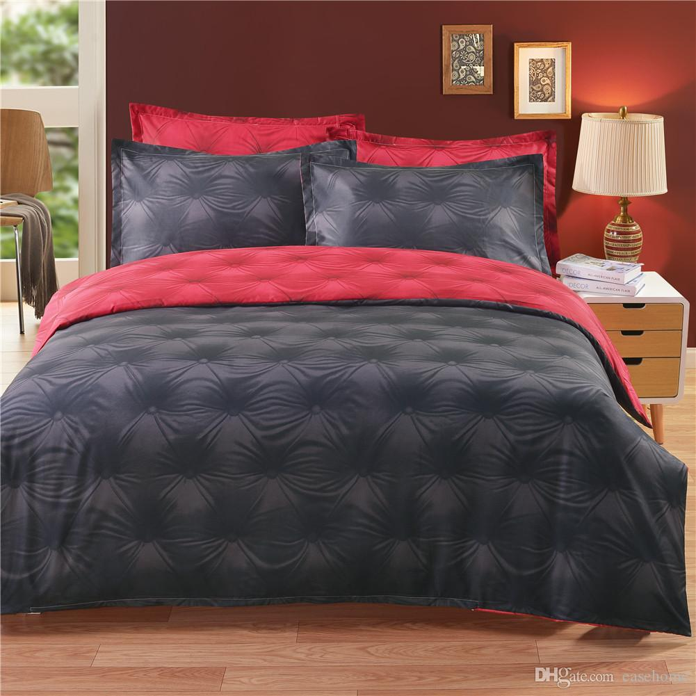 2018 New bedding set dovet set in 8 colors solid dovet cover and pillow cases free shipping