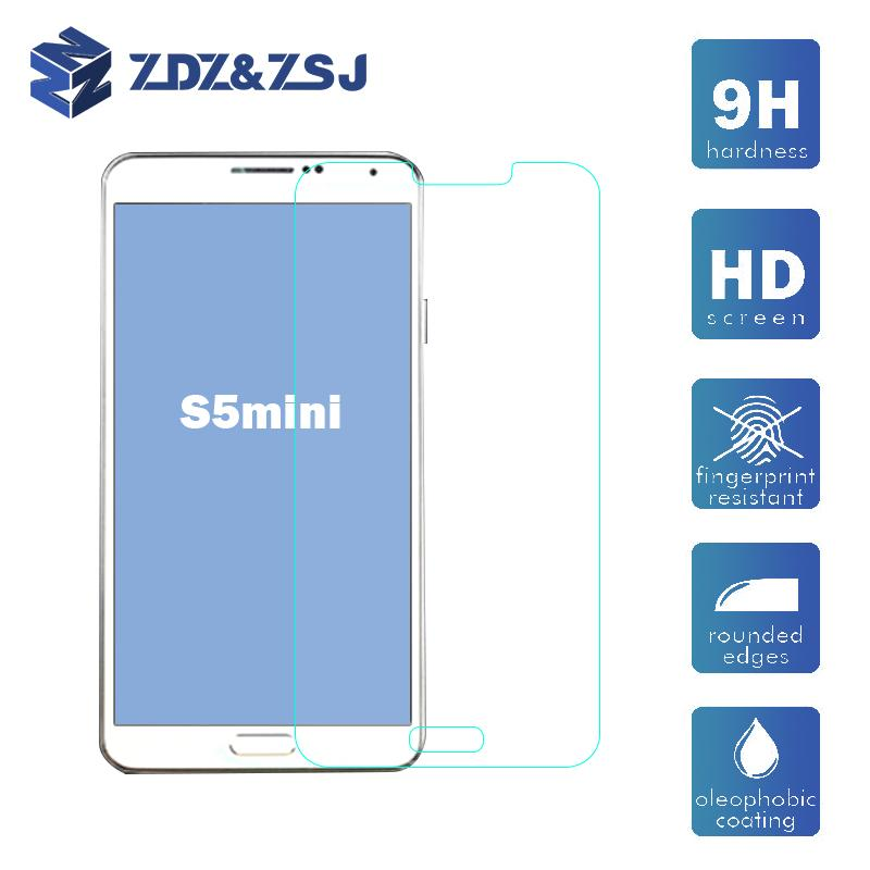 Wholesale Premium Tempered Glass Screen Protector for Samsung Galaxy S5 mini 50pcs/lot