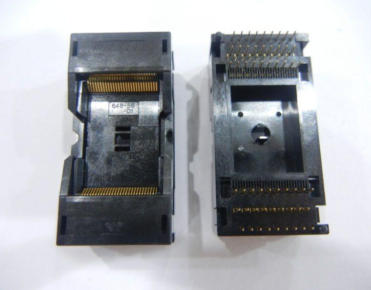 Wells 648-0562211-a01 IC test /& Burn-en socket for TSOP 56 Package