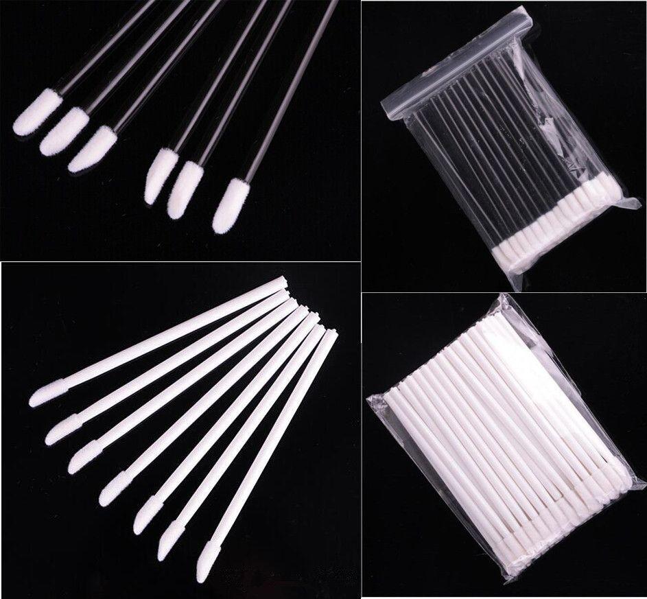 Hot New 50pcs/set 20000Pcs/lot Disposable Lip Brush LipStick Brushes Gloss Wands Applicator Makeup Tool 3 colors DHL FEDEX Free shipping