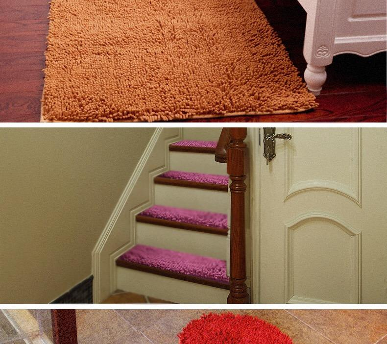wholesales chenille carpet bedroom bathroom kitchen floor mat/soft