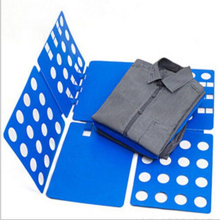 Wholesale-Children Kids Baby Dress T Shirt Fold Clothes Folder Flip Laundry Organizer Board