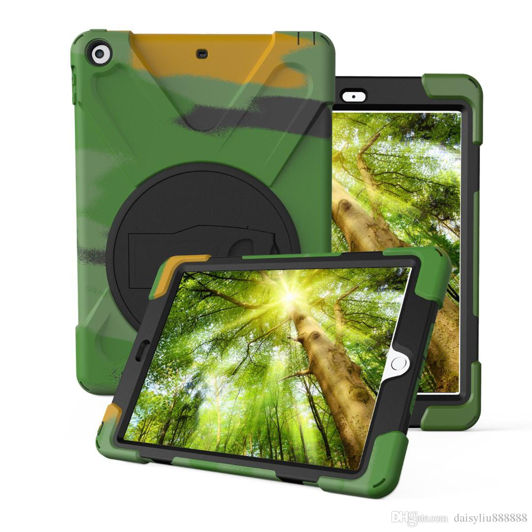 Tablet Cover For iPad Mini 4/ Air 2 / Pro 9.7 inch,Kids Baby Safe Armor Stand Shockproof Heavy Duty Silicone Hard Screen Case For ipad 2 3 4