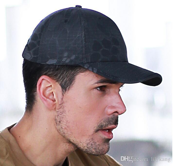 Tactical Kappen Hüte Baseball-Mütze Camouflage Armee CS-Kappe für Männer Frauen Sonnenhut Wargames Im Freien Cap Wandern Angeln Hüte