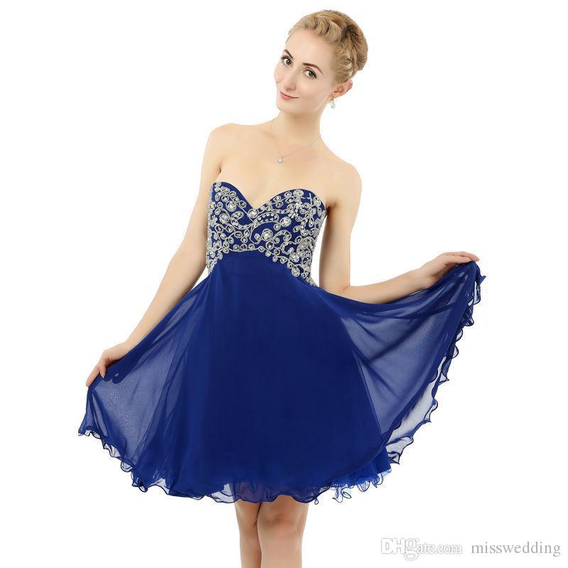 2019 Jesień Kolekcja Moda Koktajl Sukienka Atrakcyjne Zroszony Eren Jossie Krótkie Długość Sweetheart Party Suknia Party