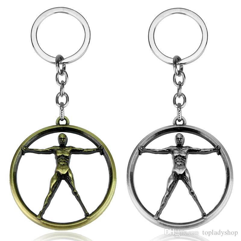 metal key ring items in Europe and the United States around the auto accessories ornaments keychains