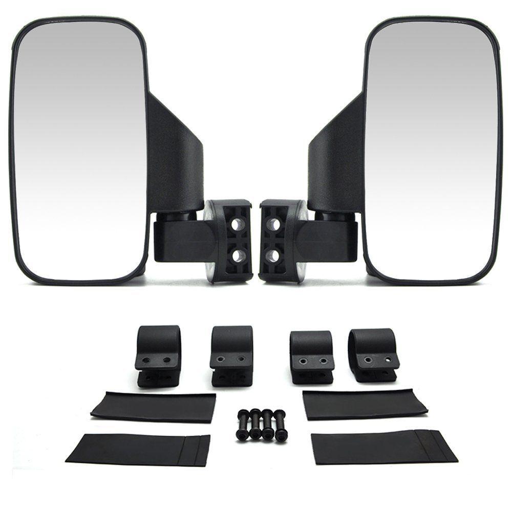1.75/'/' UTV Rearview Mirror for Polaris Ranger RZR 900 1000 Maverick Commander US