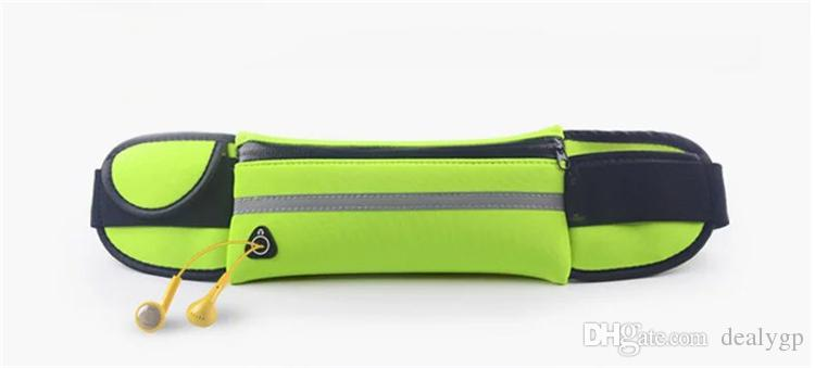 Universal Waterproof Sport Jogging Running Gym Pouch Waist Belt Bag Case with Earphone Hole For Mobile Phone