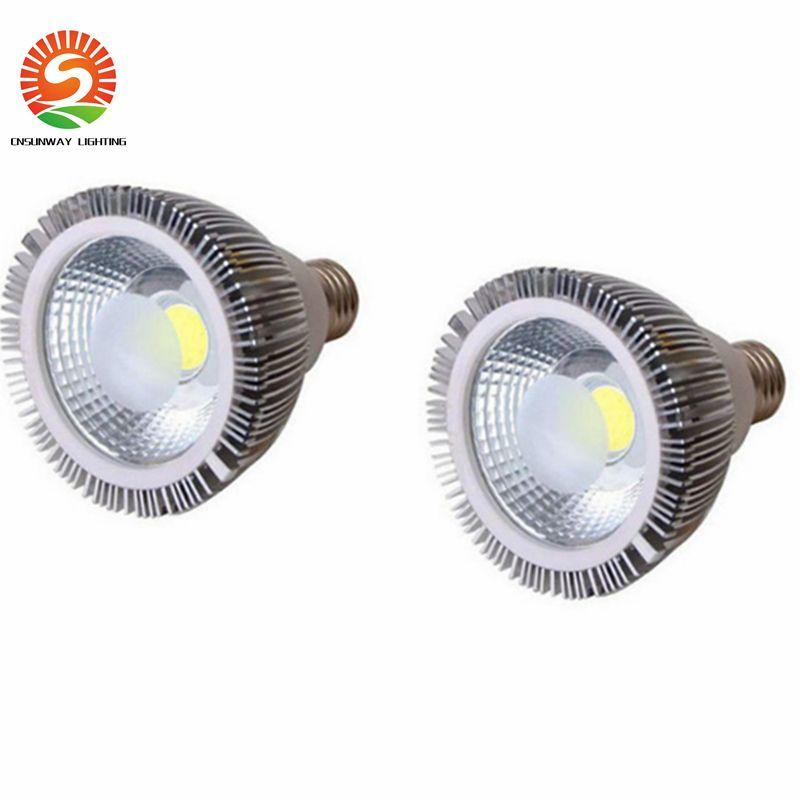 dimmable 주도 전구 PAR38 PAR30 PAR20 85-265V 10W 20W 25W E27 20 30 38 LED 조명 스폿 라이트 램프 파 통
