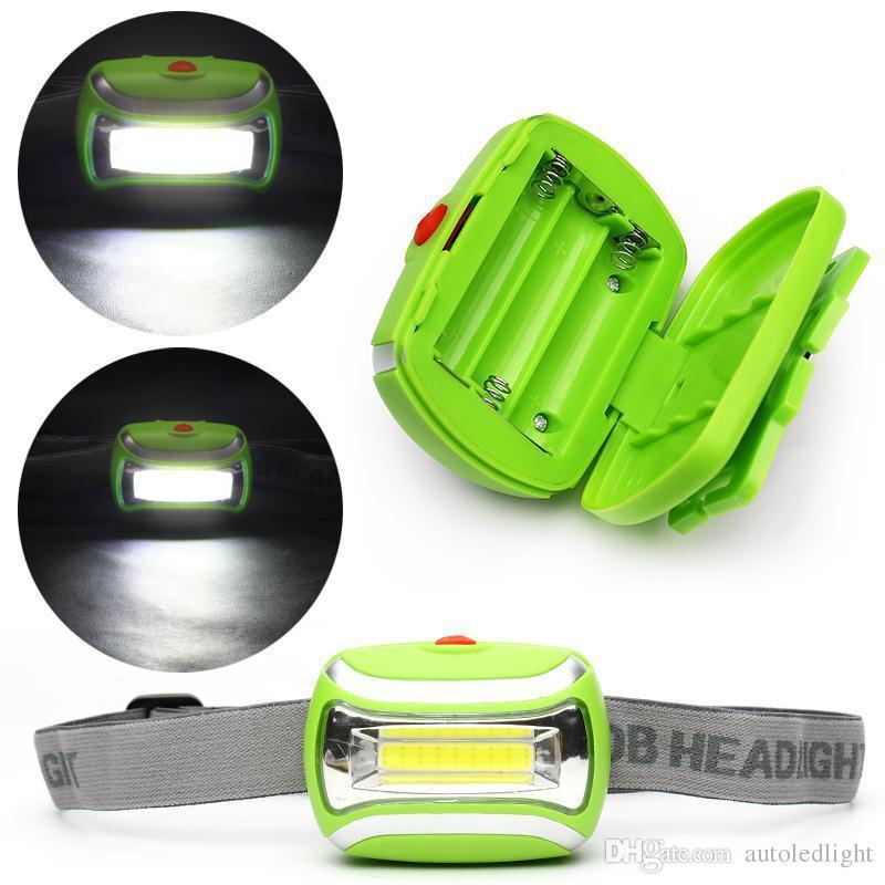 Lighting Mini LED headlight COB 3W outdoor lamp headlamp light night riding fishing gear from super bright emergency