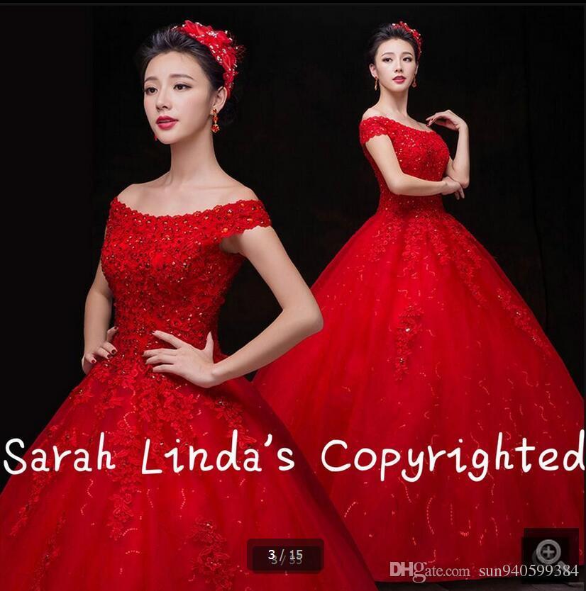 Красное платье венчание