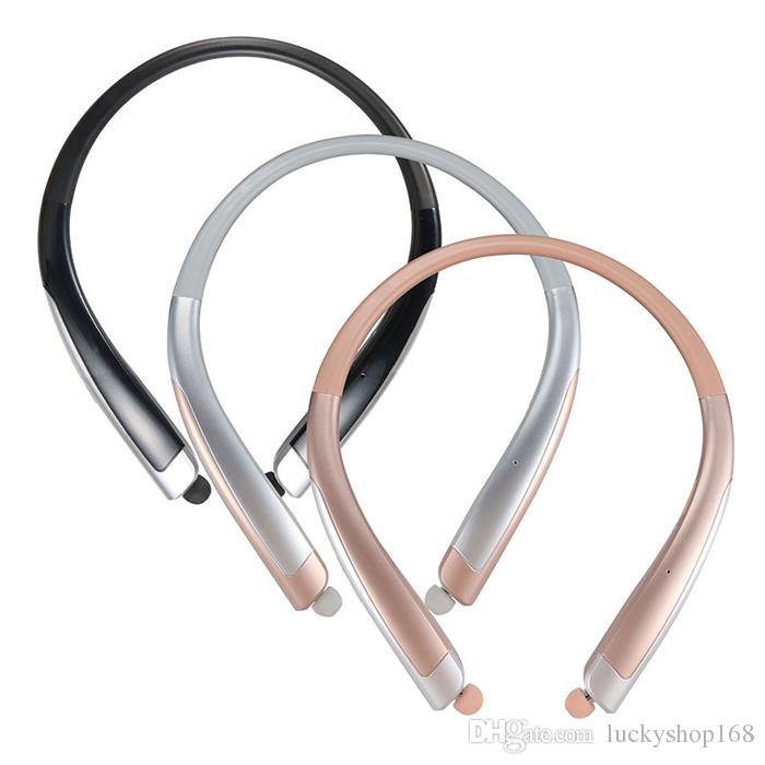 New HBS1100 Tone Platunum HBS-1100 Wireless Collar Headset Support NFC Bluetooth 4.1 HIFI Sports Hands-free Headphone