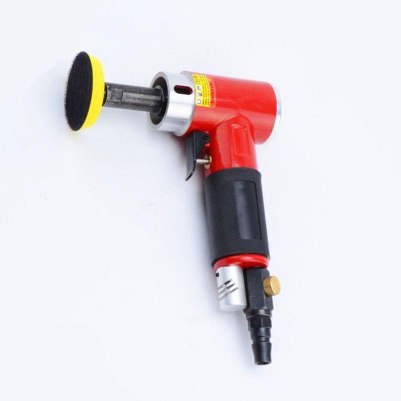2 pouces petite polisseuse pneumatique Sander à 90 degrés Centricité construite de la meuleuse de la meuleuse à air de ponçage à air long broche droite