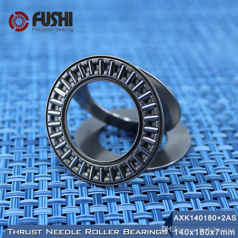 Rodamiento de agujas AXK140180 + 2AS con dos arandelas AS140180 140 * 180 * 7 mm (1 pieza) Rodamientos NTB AXK1128 889128