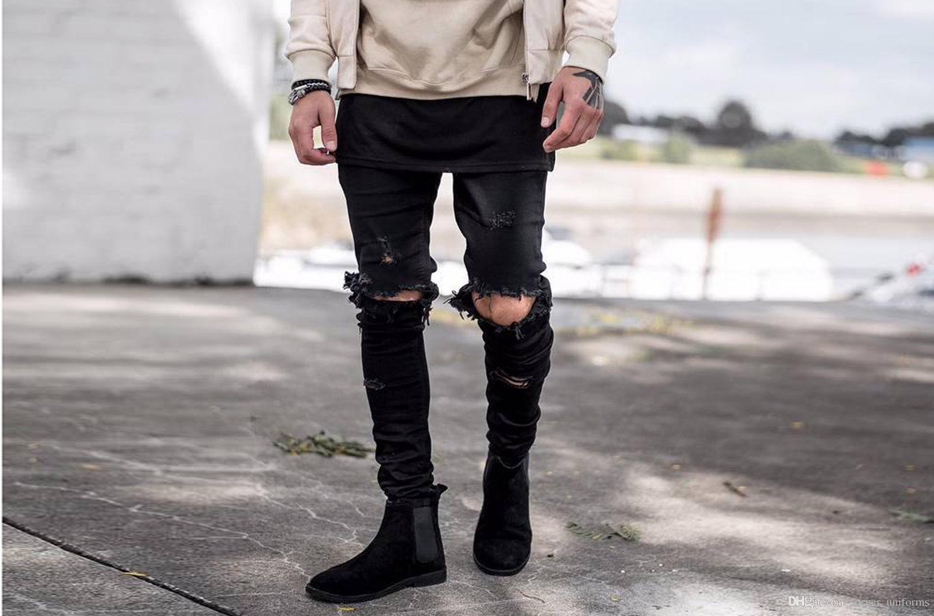 Эрекция через джинсы