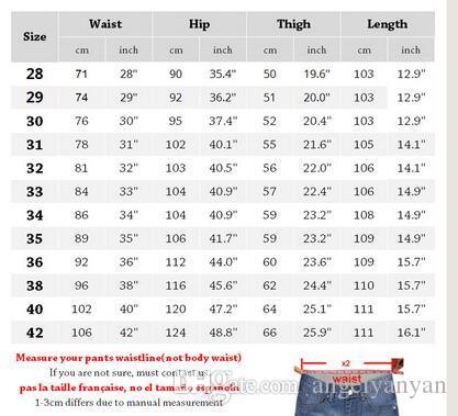grande vente 219d8 f96ad Acheter Hommes Jeans Taille 28 À 42 Noir Bleu Stretch Denim Slim Fit Hommes  Jean Pour Homme Pantalon Pantalon Noir Jeans De $40.59 Du Angelyanyan | ...