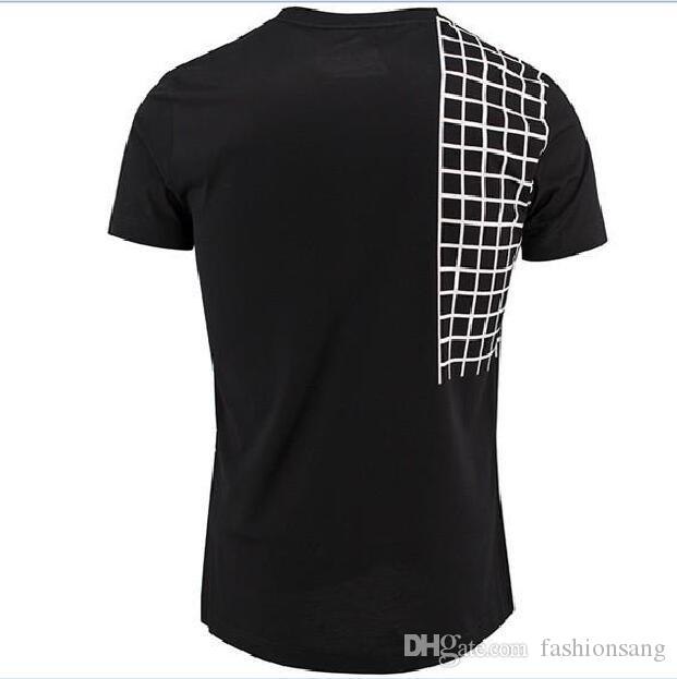 Одежда качества пледа хорошие футболки короткие тонкие пригодные для печати мужской рукав мужской клуб черный мужчина плюс размер футболки мужчина бренд футболки OHMVG