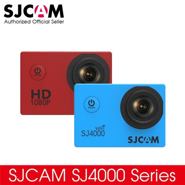"Original SJCAM SJ4000 Series 1080P HD 2.0"" SJ4000 & SJ4000 WIFI Action Camera Waterproof Camera Sport DV"
