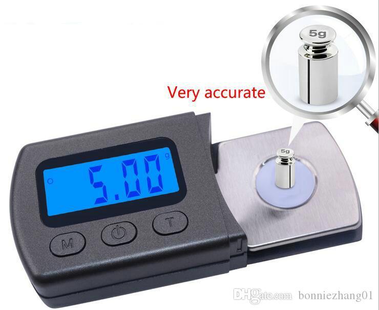 20PCS الدقة 0.01g 5G مجوهرات مقياس الجيب الماس الالكترونية الرقمية مساحيق حبوب منع الحمل بره