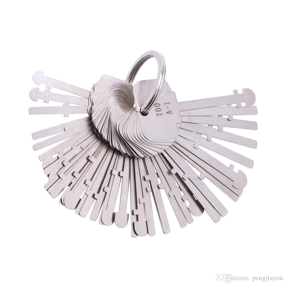 KLOM اتقي اختيار مجموعة (40 مفاتيح) أدوات وارد قفل مفاتيح اتقي قفل مفتاح الهيكل العظمي اتقي مفاتيح إفتح للاقفال المهنية