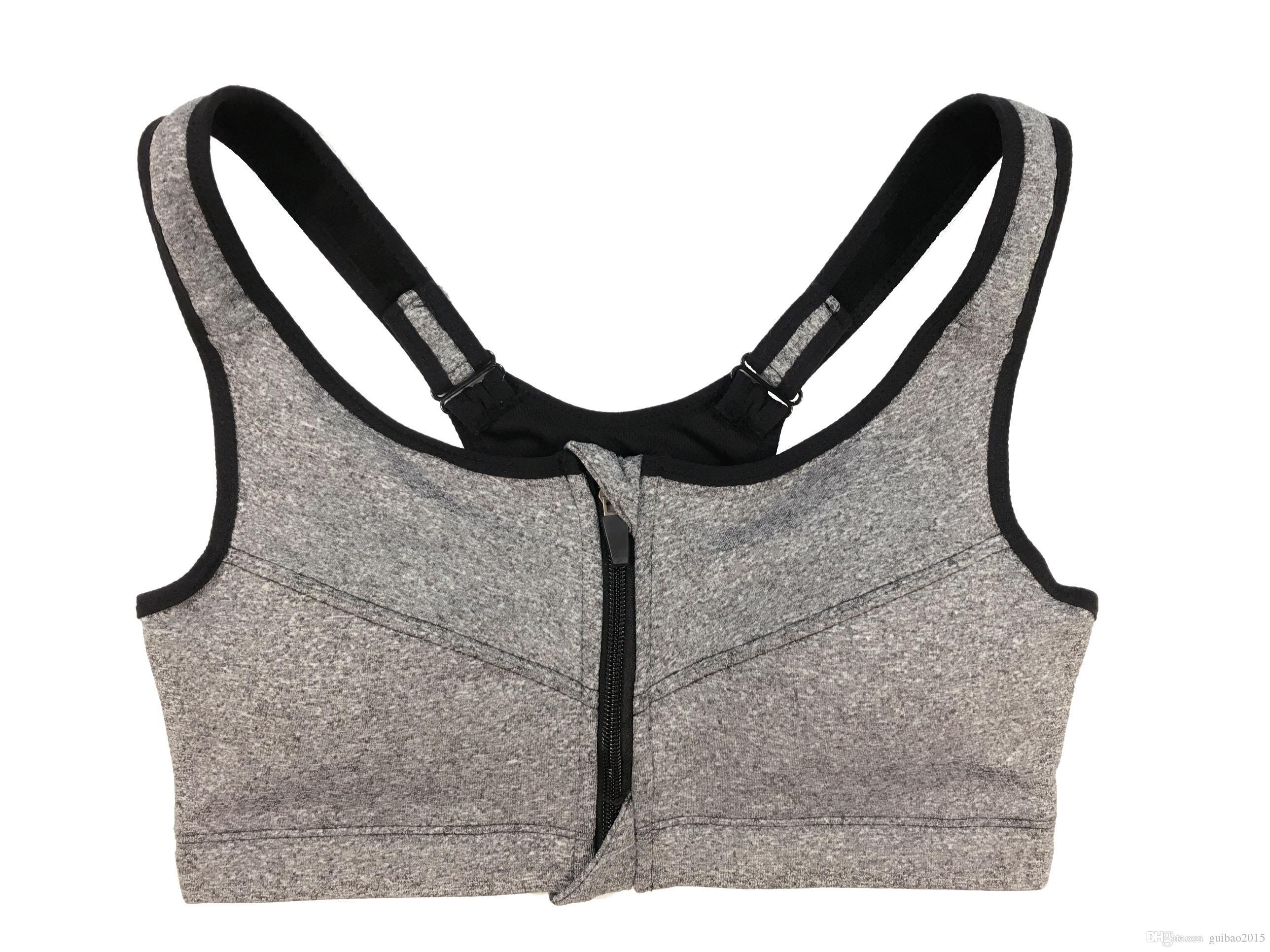 Kadın Spor Yoga Dikişsiz Sutyen Şok Prova Yüksek Etki Egzersiz Gym Sütyen