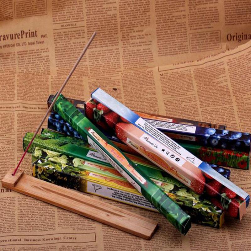 Mix Color Moda Handmade Darshan Incenso Vara de Incenso Incenso Varas Vários Fragrance 8 pcs = 1 Pequena Caixa DHL