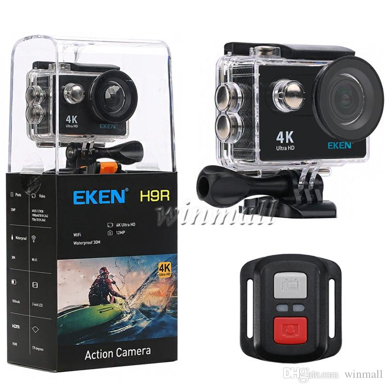 Ultra HD 4K Action Camera H9 H9R Action Camera 2.4G Remote Control 170D Waterproof Sport Cam Mini DV Video Camcorder DVR