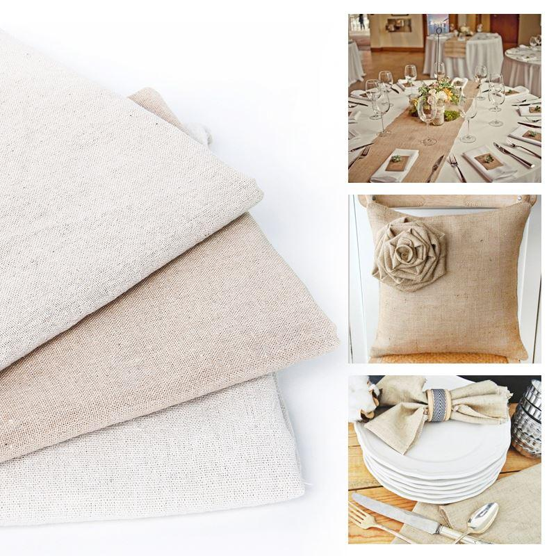 David accessories50*150CM soild Linen fabric for Tissue Kids Bedding textile for Sewing Tilda Doll, DIY handmade materials,43749