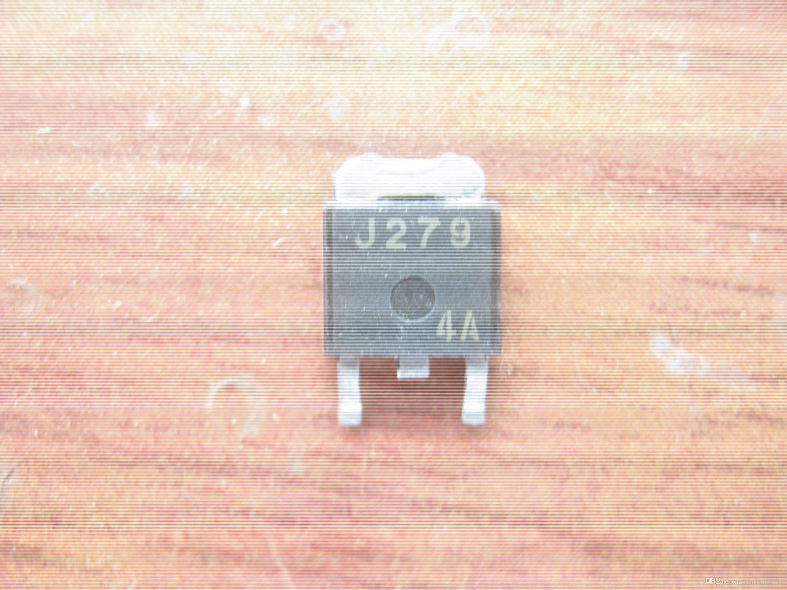 تستخدم الأصلي تأثير الحقل الترانزستور MOSFET 2SJ279 J279 TO-252 اختبار موافق
