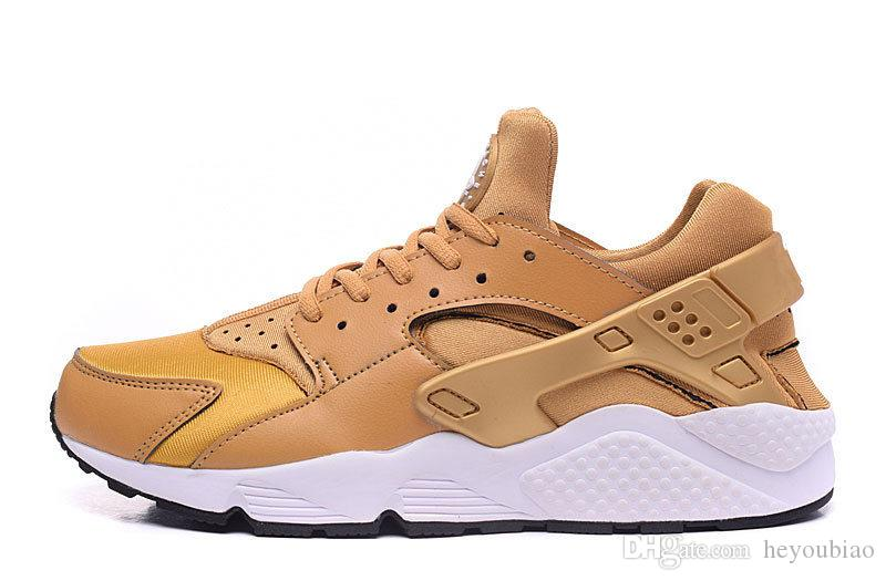 BRONZINE Air mens running shoes Huarache run men sports shoes women huaraches outdoor athletic trainer size 36-46