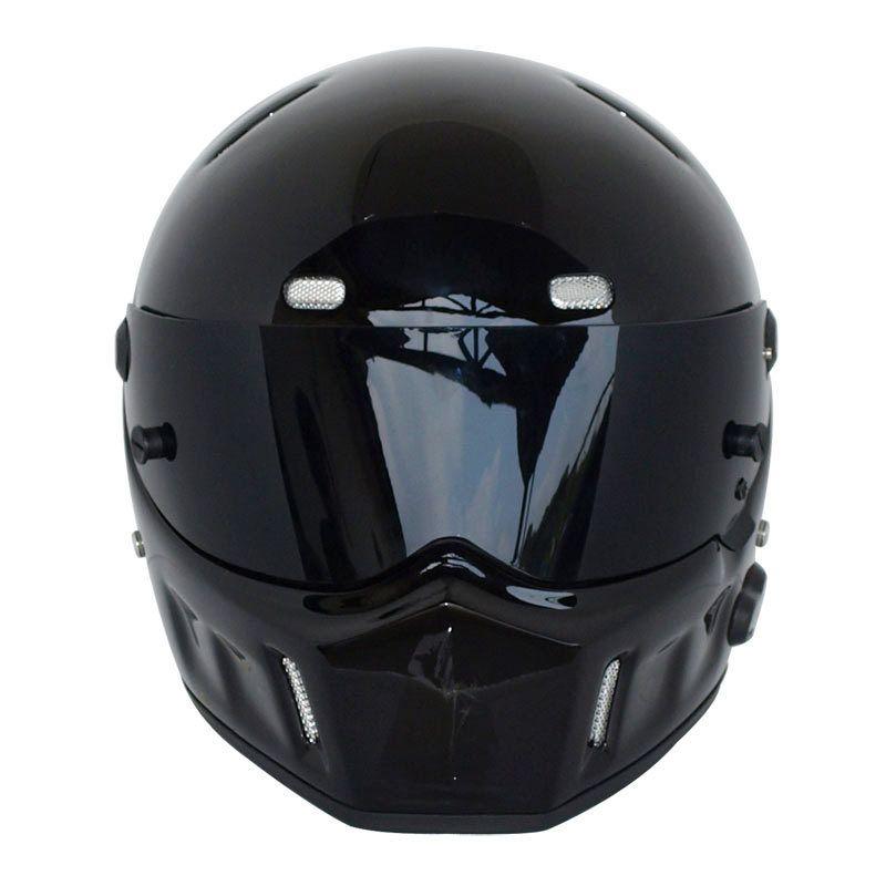"""1996 Motorcycle Helmet for """"Simpson STYLE"""" Street Pig Bandit For Karting ATV-1 Carbon Drag Full Face Helmet DOT S-XXL"""