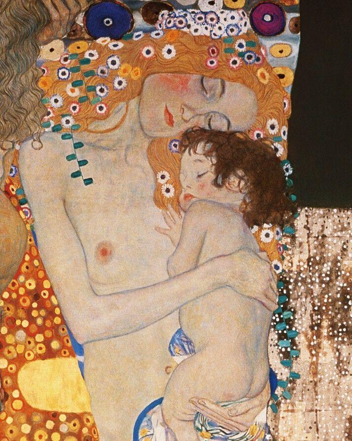 Gustav Klimt Madre E Hijo