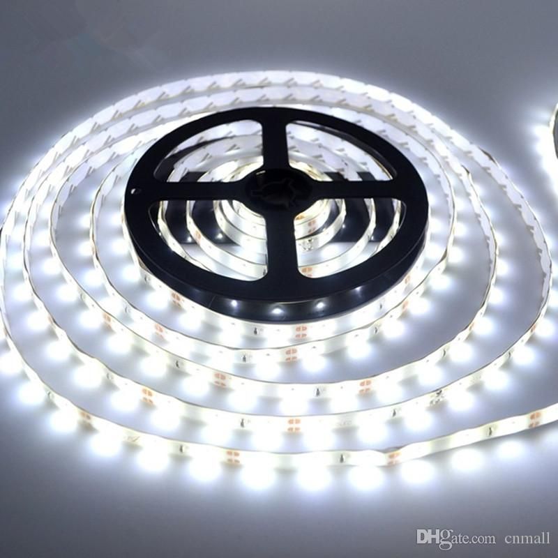 new style ff7a8 2c109 5M Bright White Flexible 3528 SMD Strip Light Water Proof 300 LED DC 12V  Christmas Tree Lights Indoor/Outdoor Decoration Smd Led Strip Ir Led Strip  ...