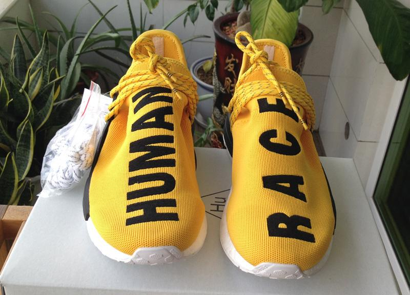 Yellow Nmd Pharrell Human Race Nmd Runner White Black Gray Red