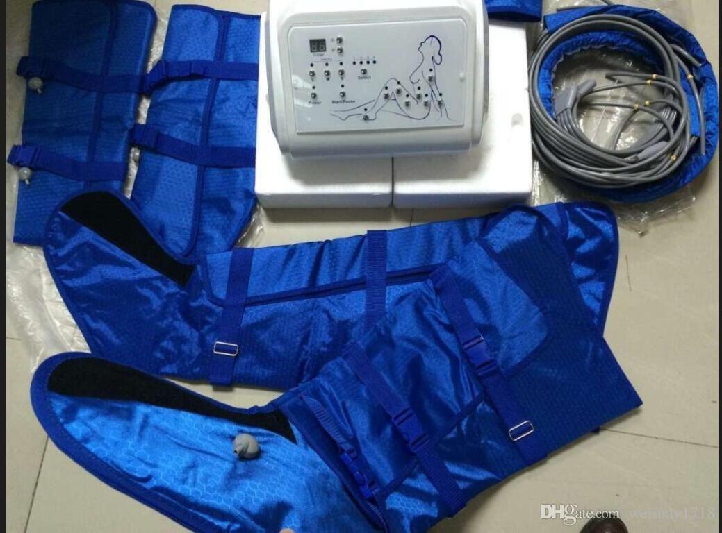 Taşınabilir lenfatik drenaj cihazı, spa salon ev kullanımı lenfatik drenaj aparatı