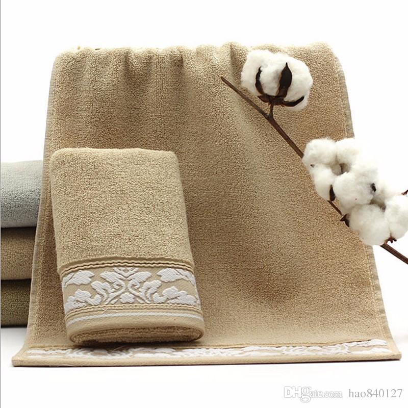 2017 3575cm jacquard cotton terry hand towelssolid decorative elegant embroidered face bathroom - Decorative Hand Towels