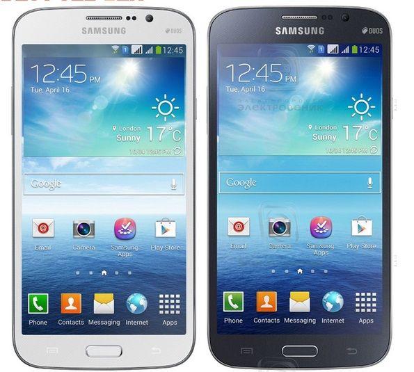 """Samsung Galaxy Mega 5.8 I9152 Débloqué Téléphone mobile 1,5 Go / 8 Go 5.8"""" 8.0MP téléphone portable remis à neuf"""
