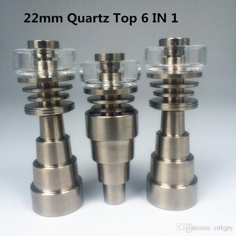 2018 Pytitans Brand New Titanium Nail 10 / 14mm / 18mm Male / Female Domeless Titanium Nail Carb Cap Factory 직접 판매 도매가 무료