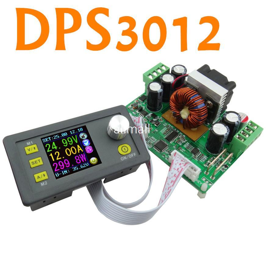 Freeshipping DPS3012 Programmable control supply Power Converter Constant Ammeter Voltmeter Current voltage meter Step-down 0V-32V 0-12A