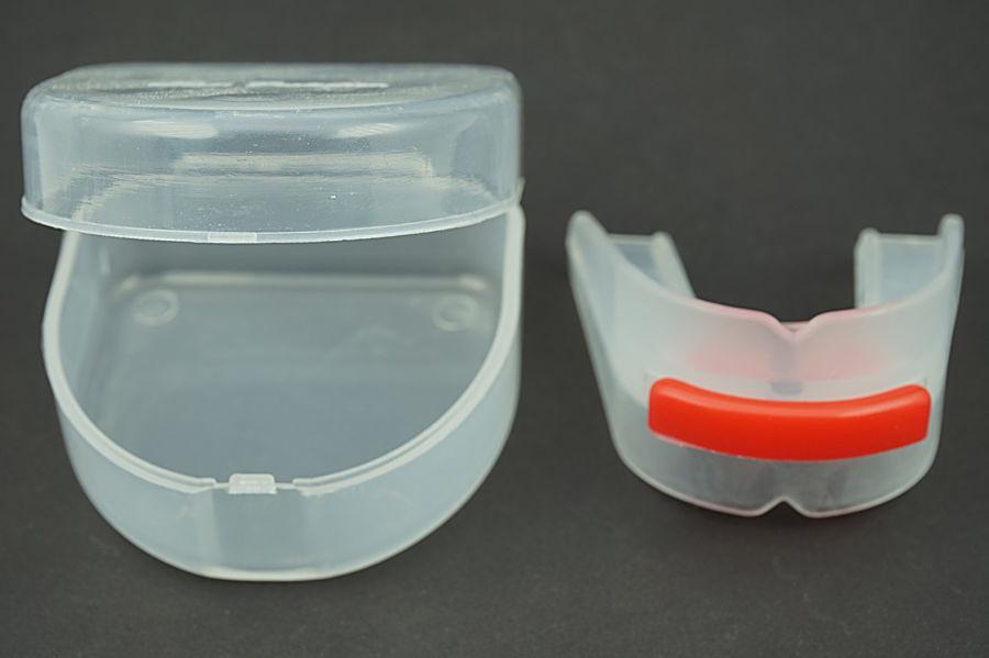 Toptan-2adet / lot Ücretsiz Kargo Çift taraflı Silikon şeffaf dişlik Dişler Dur Bruksizm Diş Taşlama