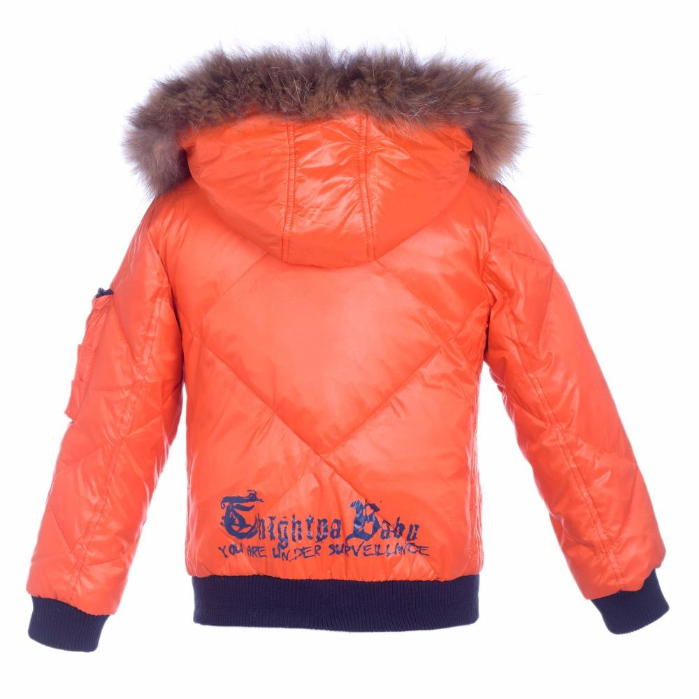 Children Jackets For Boys/Girls Winter Orange Duck Down Jacket ...